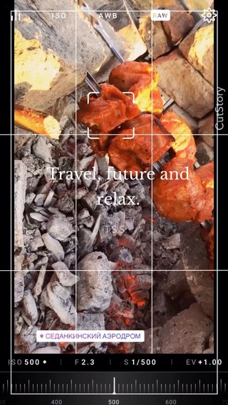 Travel, future and relax. -T.S.S.