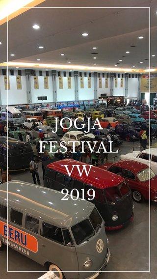 JOGJA FESTIVAL VW 2019