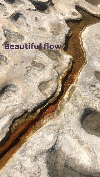 Beautiful flow Hierve de agua