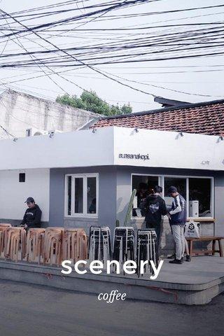 scenery coffee