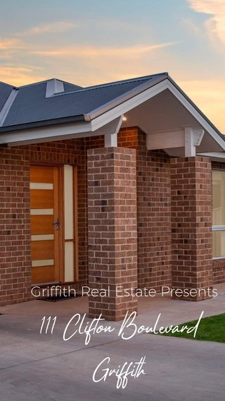 111 Clifton Boulevard Griffith Griffith Real Estate Presents