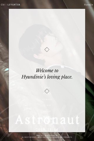 Welcome to Hyundinie's loving place.