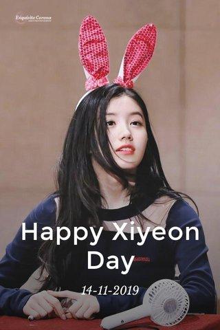 Happy Xiyeon Day 14-11-2019