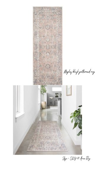 Naples blush patterned rug Skye - SKY-01 Area Rug
