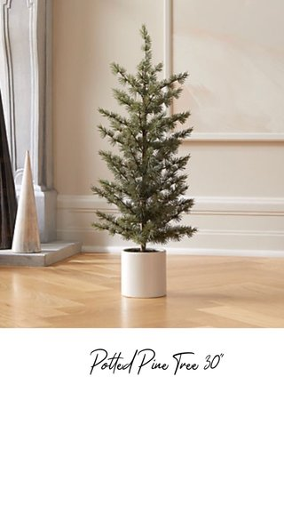 """Potted Pine Tree 30"""""""