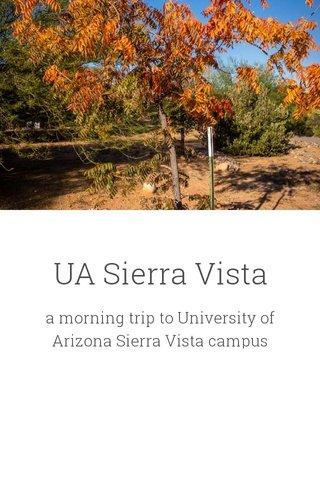 UA Sierra Vista
