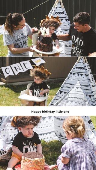 Happy birthday little one