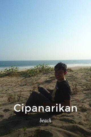 Cipanarikan beach
