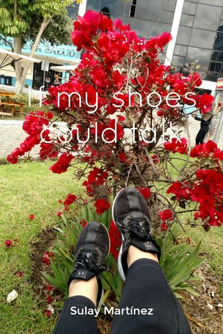 If my shoes could talk Sulay Martínez