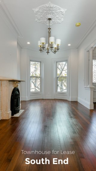 South End Townhouse for Lease