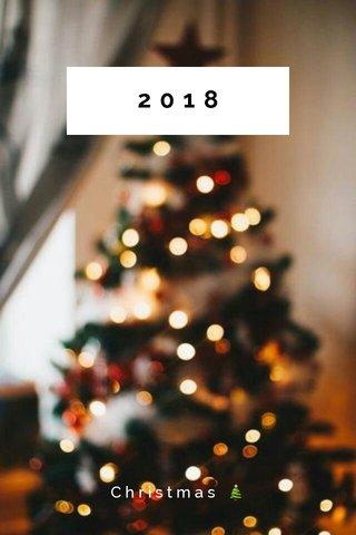 2018 Christmas 🎄