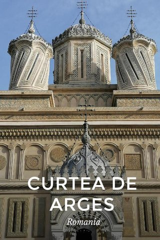 CURTEA DE ARGES Romania