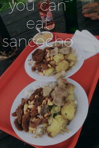 you can eat sancocho