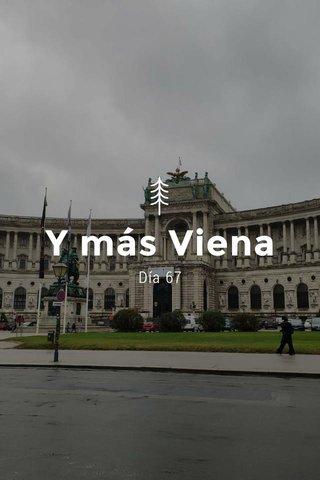 Y más Viena Día 67