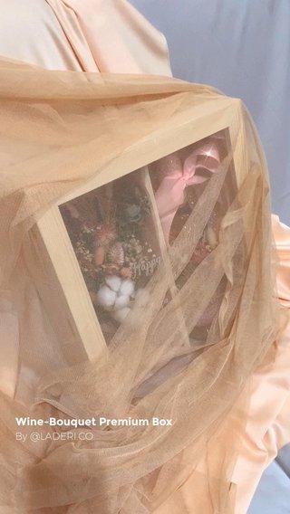 Wine-Bouquet Premium Box By @LADERI.CO
