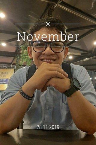November 28 11 2019