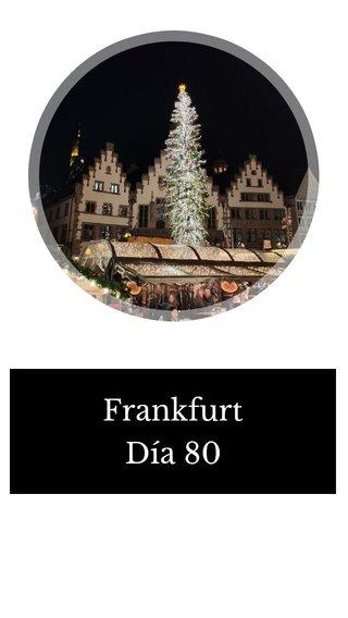 Frankfurt Día 80