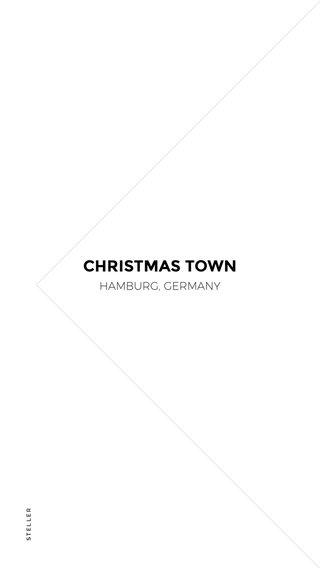 CHRISTMAS TOWN HAMBURG, GERMANY