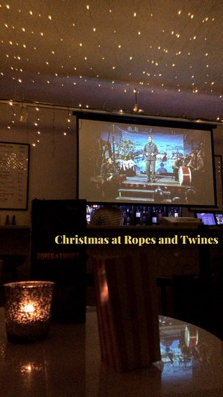 Christmas at Ropes and Twines