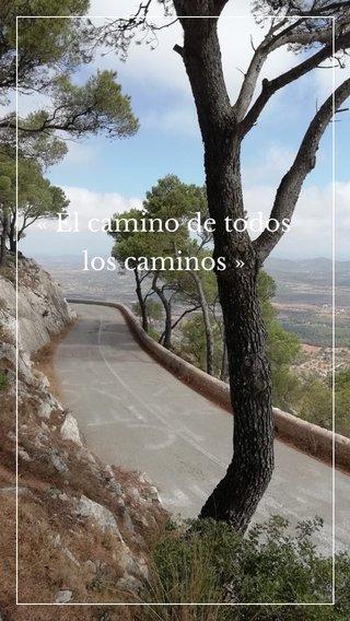 «El camino de todos los caminos»