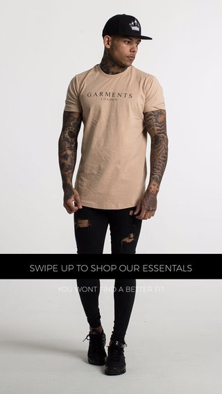 SWIPE UP TO SHOP OUR ESSENTALS YOU WONT FIND A BETTER FIT