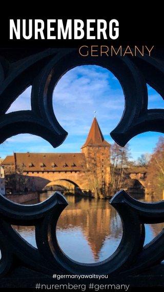 . Nuremberg GERMANY #nuremberg #germany #germanyawaitsyou