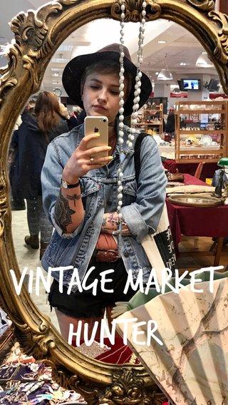 Vintage market Hunter