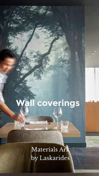 Wall coverings Materials Ark by Laskarides
