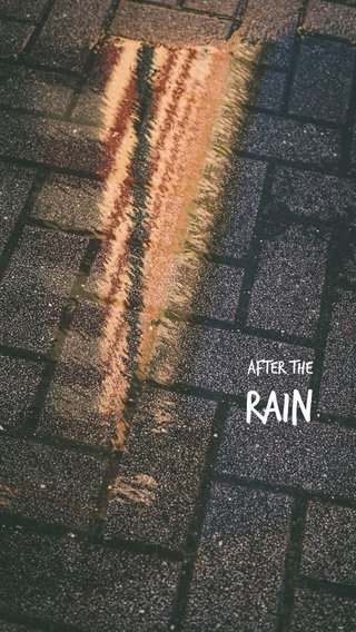 Rain After the