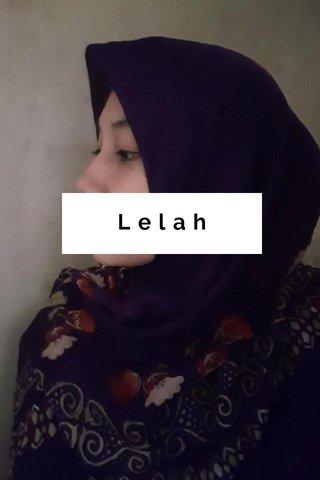 Lelah