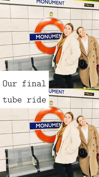 Our final tube ride