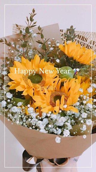 Happy New Year 🎊 01012020