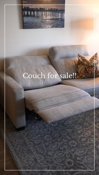 Couch for sale!!