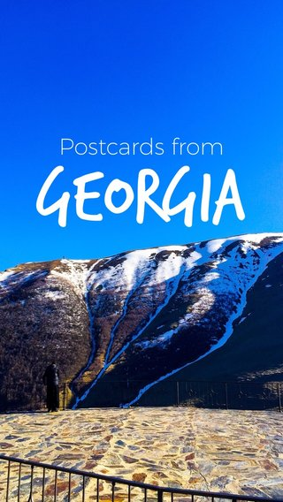 GEORGIA Postcards from