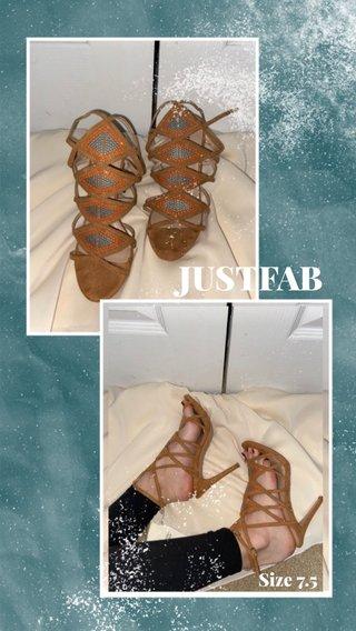 JUSTFAB Size 7.5