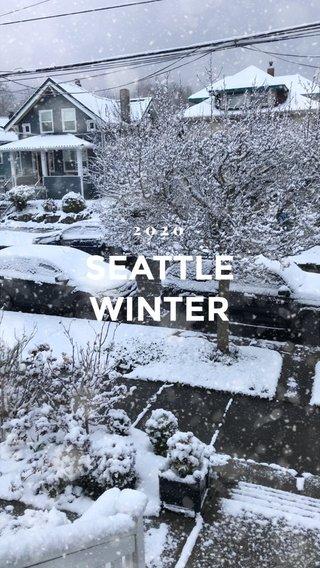 SEATTLE WINTER 2020