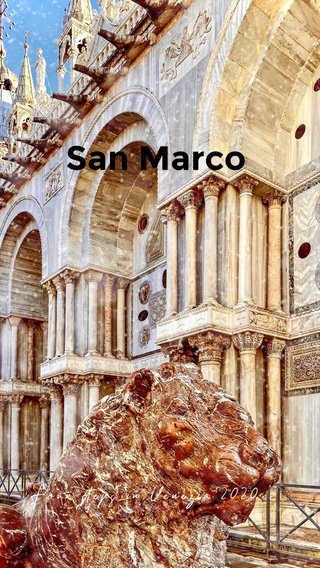 San Marco Four steps in Venezia 2020