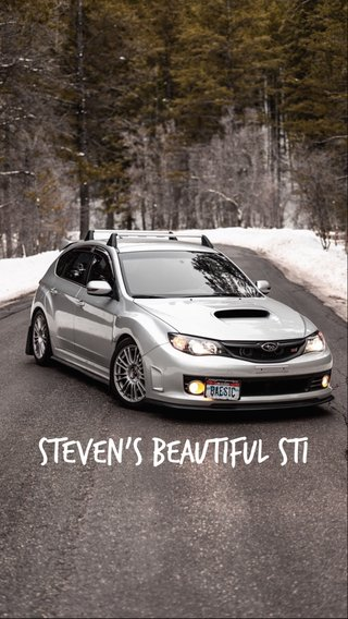 Steven's beautiful STI