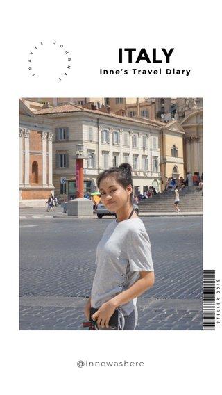 ITALY Inne's Travel Diary @innewashere