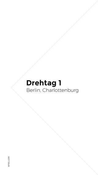 Drehtag 1 Berlin, Charlottenburg