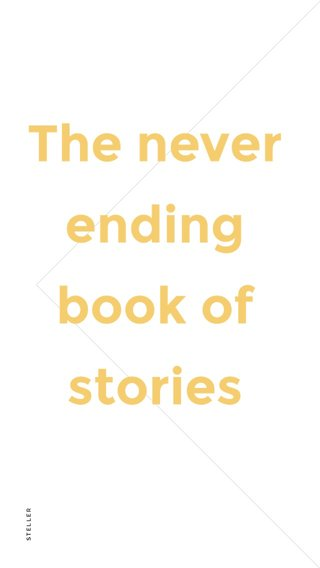 The never ending book of stories
