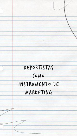 deportistas como instrumento de marketing