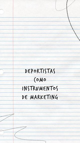 deportistas como instrumentos de marketing