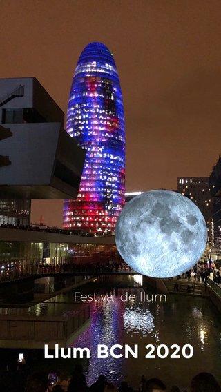 Llum BCN 2020 Festival de llum