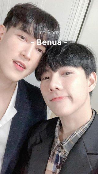 - Benua - I'm Sorry