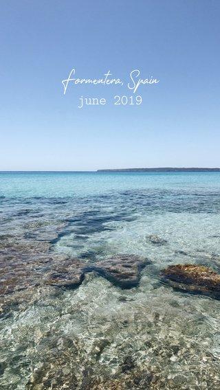 Formentera, Spain june 2019