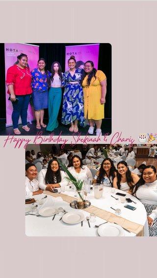 Happy Birthday Shekinah & Charis 🎂🎉