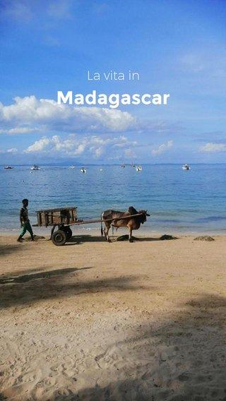 Madagascar La vita in