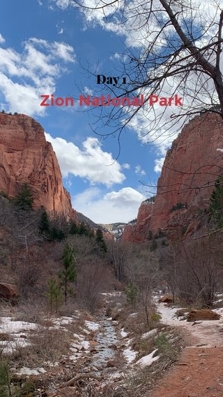 Zion National Park Day 1