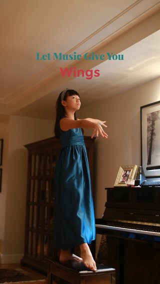 Wings Let Music Give You